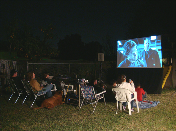 Create Summertime Memories: Backyard Movie Night | Lisa Ziccardi ...